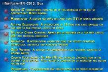 IFFI 2013 in numbers: 325 films, 16 directors, 9 documentaries