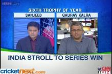 Sixth ODI trophy of the year for India