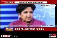 India is getting a vote of confidence from beverage giants: Indra Nooyi