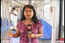 Jayalalithaa flags off Chennai Metro rail test-run