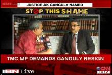 SC ex-judge AK Ganguly must quit as West Bengal HRC chief: TMC MP