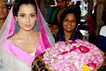Snapshot: Kangana Ranaut prays at Ajmer Sharif for success of 'Rajjo'