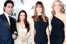 Photos: Sharon Stone, Hilary Swank join Aishwarya, Abhishek at amfAR gala