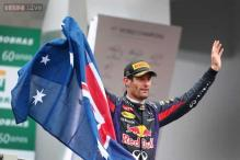 Mark Webber celebrates 'special' final race in Formula One