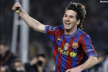 Messi marks 10th anniversary of Barca first-team debut