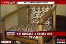 Agra: Bidding war for Modi's chair by BJP leaders continues