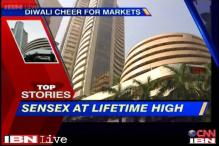 News 360: Sensex at lifetime high, closes at 21,294 on Friday