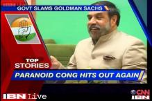 News 360: Congress slams Goldman Sachs for predicting growth if NDA wins polls