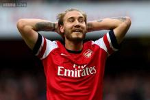 Bendtner arrested after causing criminal damage
