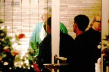 Run up to the D Day? Rani Mukerji and her family celebrate Diwali at Aditya Chopra's house