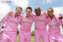 India will face 'pink' South Africa in the first ODI
