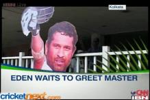 Eden Gardens braces up for Sachin Tendulkar farewell