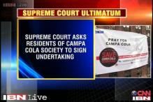 Mumbai: SC tells Campa Cola society residents to leave by May 31, 2014