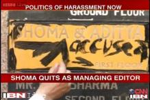 Vijay Jolly vandalises Shoma Chaudhury's residence