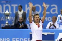Simona Halep beats Samantha Stosur to win Tournament of Champions