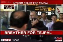Tejpal gets interim relief, arrest stayed till Saturday 10 am