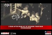 AP: 9 die, 2 injured as train runs over them near Vizianagaram