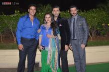 Star-studded wedding reception for Vishesh Bhatt