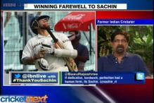 India give winning farewell for Sachin Tendulkar