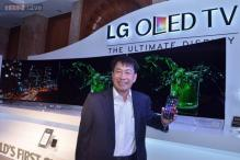 LG aims to sell 500 curved OLED TVs in 2 months