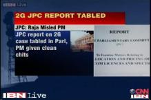 JPC tables 2G report in Parliament, says PM was misled