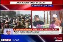 AAP's Somnath Bharti, lawyer-cum activist with IIT degree
