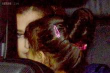Snapshot: Aaradhya Bachchan debuts a very grownup hairstyle at Aamir Khan's party