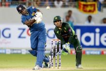 2nd ODI: Mathews leads SL to a two-wicket win over Pakistan, level series 1-1