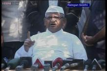 Anna Hazare begins indefinite fast for Jan Lokpal Bill