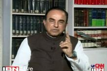 Swamy differs with Sushma, says Justice Ganguly shouldn't quit WB HRC