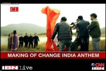 Watch: The making of Network18's Change India anthem