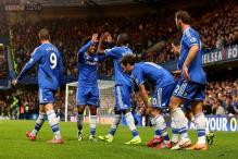 Unconvincing Chelsea beat Palace 2-1 to go 2nd in Premier League
