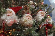 Christmas spirit grips Delhi, people celebrates with carols, cakes, candles