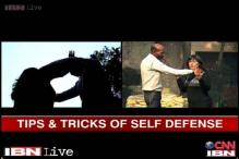 Watch: Tips and tricks of self defence for women
