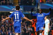 Demba Ba's goal sends Chelsea through as group winners in Champions League