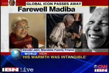 Mandela's family friend Devaki Jain remembers his spirit and warmth