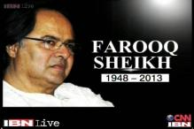 Farooq Sheikh dies of heart attack in Dubai