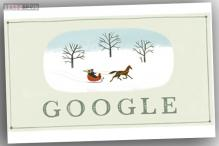 Happy Holidays: Google marks Christmas Eve with a one-horse open sleigh doodle
