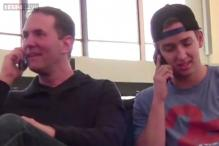 Watch: Hilarious ways to crash annoying telephone conversations at the airport