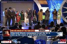 Stop Acid Attacks gets Indian of the Year 2013 award