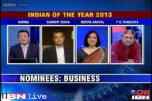 Indian of the Year 2013: Nominees in Business category
