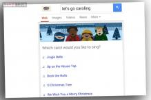 Google's new easter egg turns your phone into a Christmas Carol karaoke machine