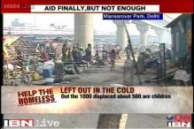 Delhi government stops demolitions, 900 displaced people get 85 tents