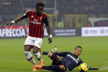 AC Milan's Sulley Muntari banned for three games
