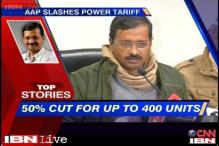 News 360: AAP slashes power tariff, 50 pc cut for up to 400 units