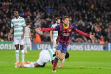 Neymar scores hat-trick as Barcelona crush Celtic 6-1 in Champions League