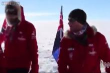 Prince Harry reaches the South Pole