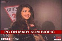 Watch: Priyanka Chopra busy with her upcoming film 'Gunday'