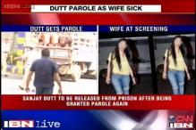 Manyata seen at a party as Sanjay Dutt gets parole over her ill health