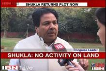 Rajeev Shukla offers to return land allotted in Mumbai